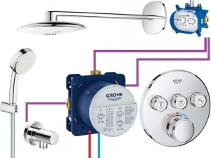 GROHE Grohtherm SmartControl  Rainshower 360 Duo