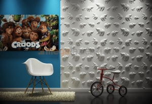 Panel dekoracyjny 3D model JUNGLE Dekor 14 60x60cm Loft Design System