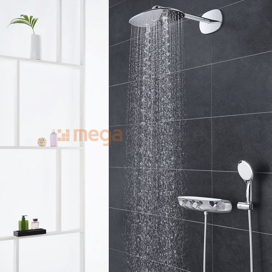 grohe rainshower system smart control 360 duo podtynkowy. Black Bedroom Furniture Sets. Home Design Ideas