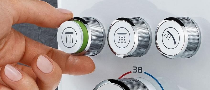 Smartcontrol zestaw podtynkowy prysznicowy Grohe