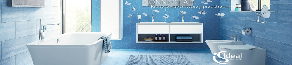 CONNECT AIR nowa seria ceramiki firmy Ideal Standard
